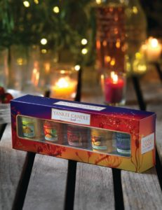 Yankee Candle Votivkerzen Set Warm Summer Nights