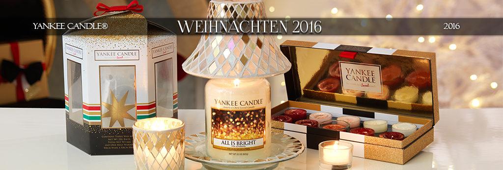 Yankee Candle Weihnachten 2016