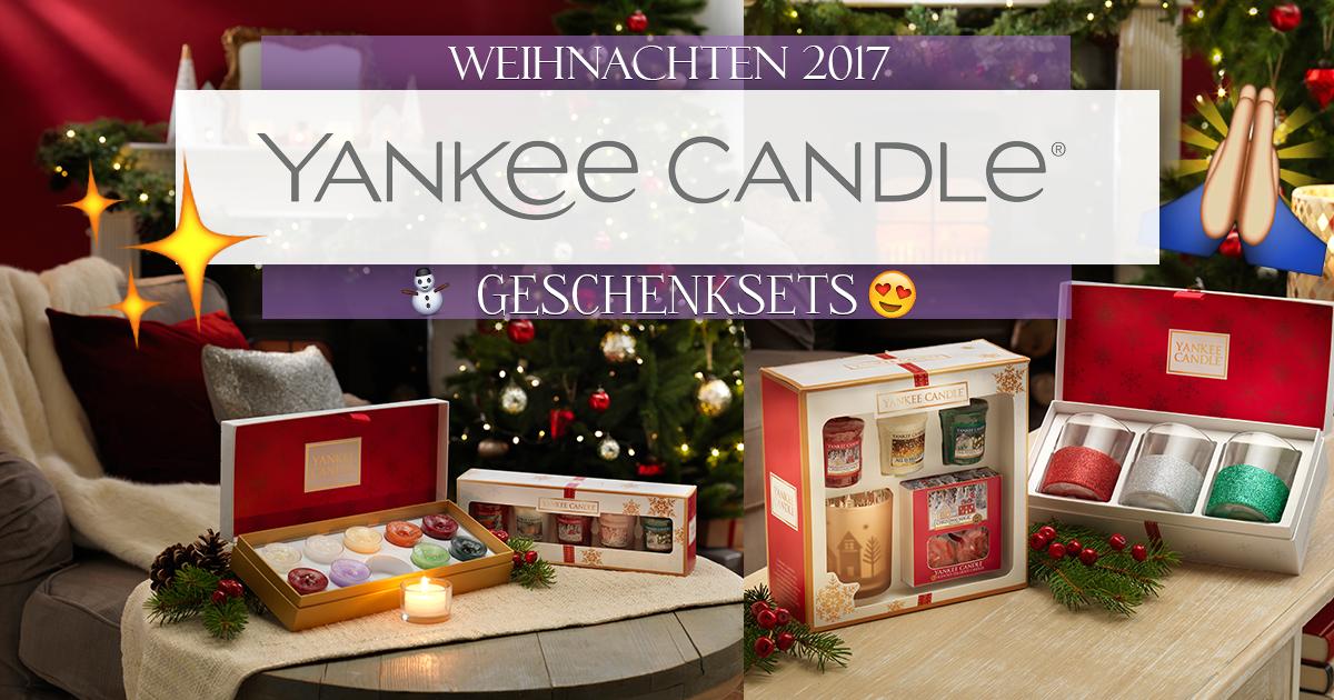 Yankee Candle Geschenksets Weihnachten 2017 – Candle-Dream Blog