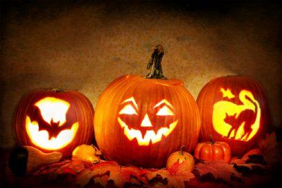 Halloween Duftkerzen