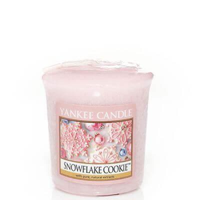 Yankee Candle Sampler - Votivkerze Snowflake Cookie