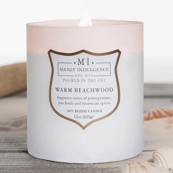 Duftkerze Warm Beachwood - 425g