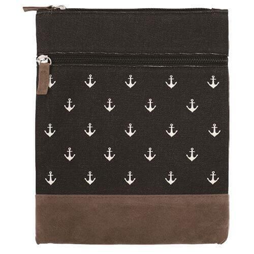 Canvas Crossbag 002 (Black Anchor)