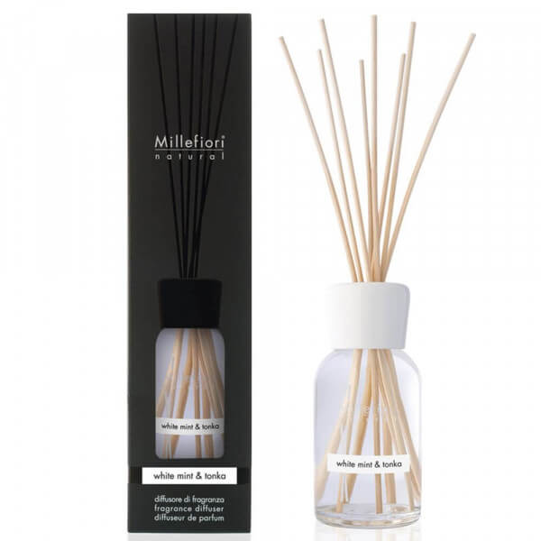 White Mint & Tonka - Natural Stick 100ml - Millefiori