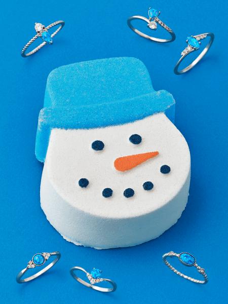 Snowman Badebombe (Ring)