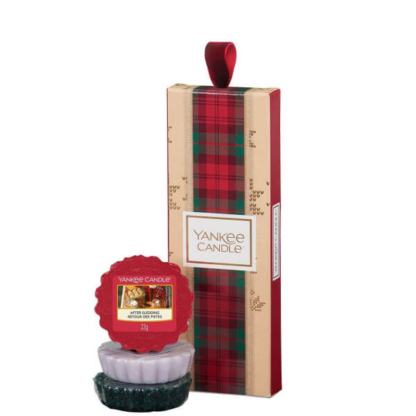 Geschenkset mit drei Wax Melts von Yankee Candle