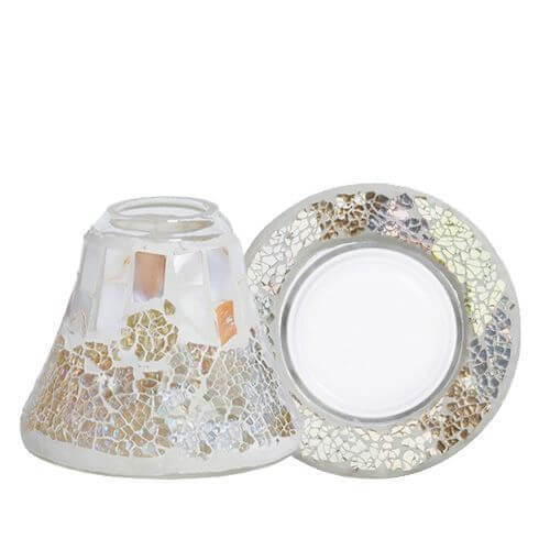 Candle Gold & Pearl Crackle Set für 104g