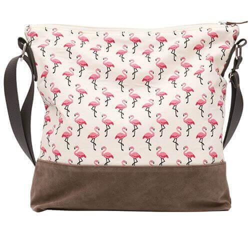 Umhängetasche 011 (Nature Flamingo)
