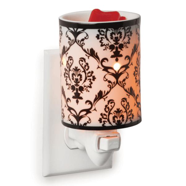Damask Porcelain für die Steckdose