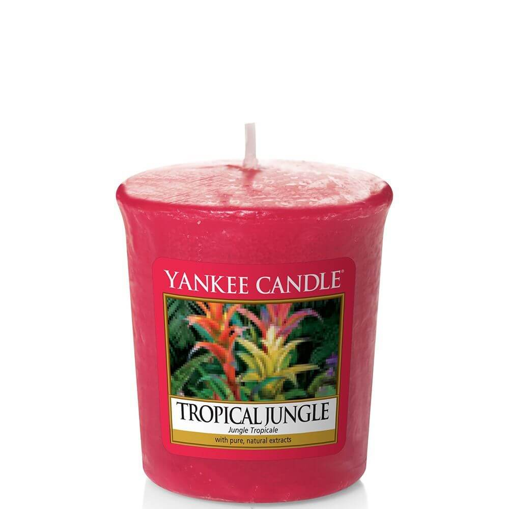 tropical jungle 49g votivkerze von yankee candle online bestellen candle dream. Black Bedroom Furniture Sets. Home Design Ideas