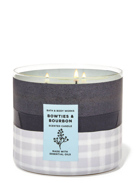 3-Docht Kerze - Bowties & Bourbon - 411g