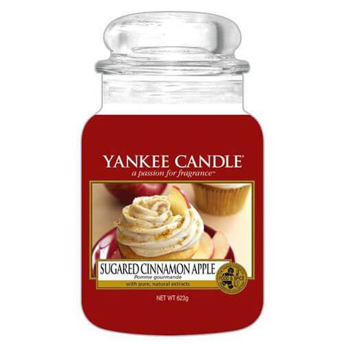 Yankee Candle - Sugared Cinnamon Apple 623g