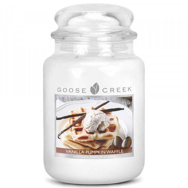 Goose Creek Candle Vanilla Pumpkin Waffle 680g