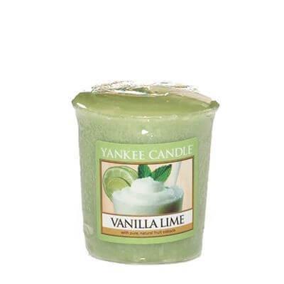Yankee Candle Sampler - Votivkerze Vanilla Lime