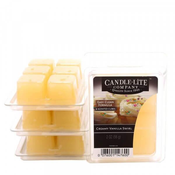 Creamy Vanilla Swirl 56g von Candle-Lite