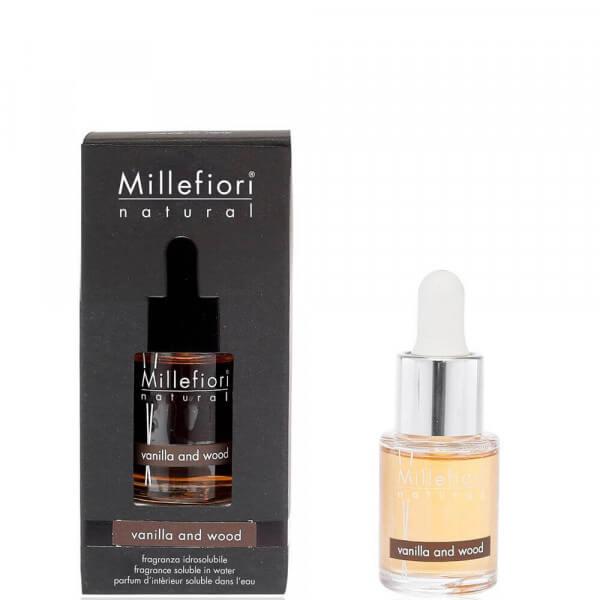 Vanilla & Wood - Natural Water-Soluble Fragrance 15ml - Millefiori