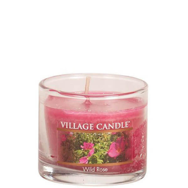 Village Candle Wild Rose Mini Candle