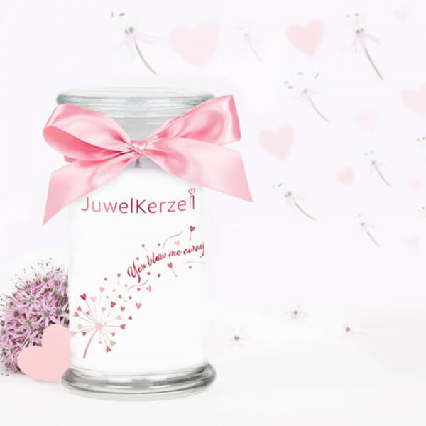 You Blow Me Away 380g (Armband) Special Edition von Juwel Kerze