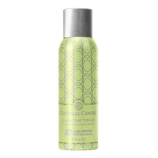Colonial Candle - Cucumber Fresca Room Spray