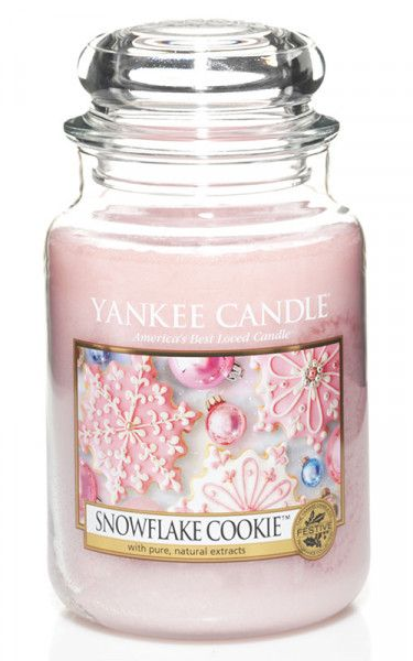 Yankee Candle Snowflake Cookie 623g