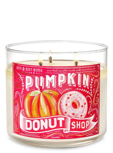3-Docht Kerze - Pumpkin Donut Shop - 411g