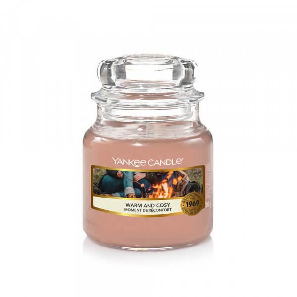 Warm and Cozy 104g kleines Glas von Yankee Candle