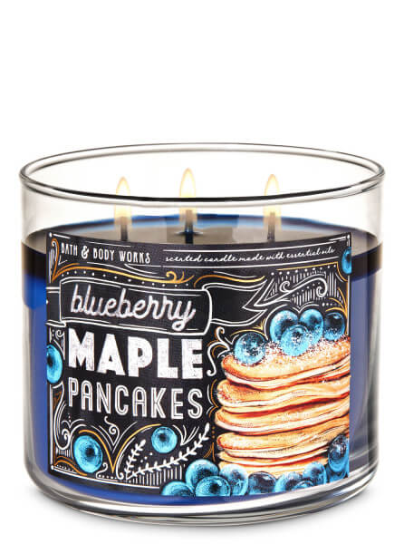 3-Docht Kerze - Blueberry Maple Pancakes - 411g