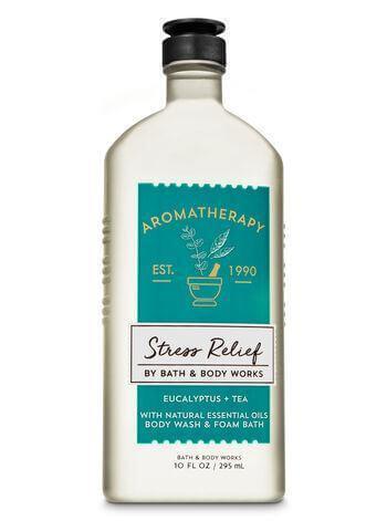 Duschgel & Schaumbad - Aromatherapy - Stress Relief - Eucalyptus & Tea - 295ml