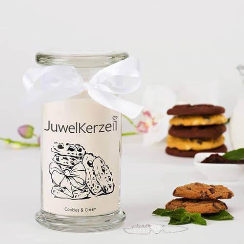 JuwelKerze Cookies & Cream (Armband) 380g