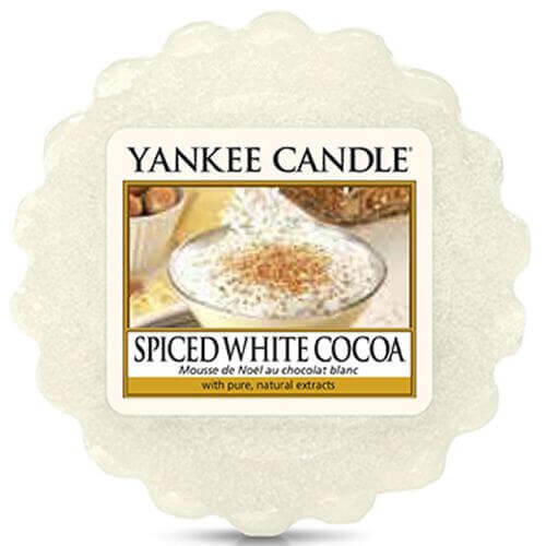 Spiced White Cocoa 22g - Yankee Candle