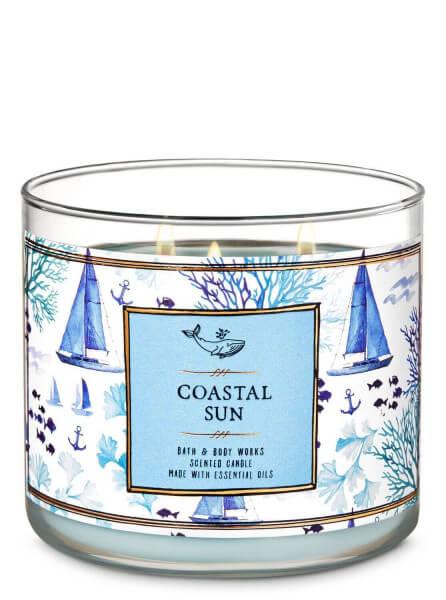3-Docht Kerze - Coastal Sun - 411g