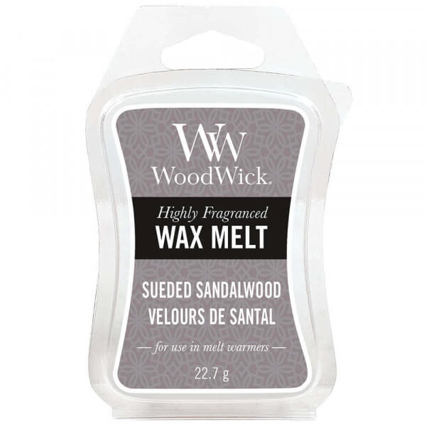 Sueded Sandalwood Wax Melt 22,7g von Woodwick