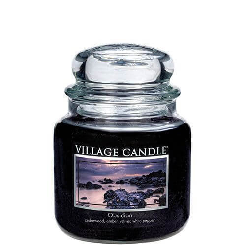 Village Candle Obsidian 453g