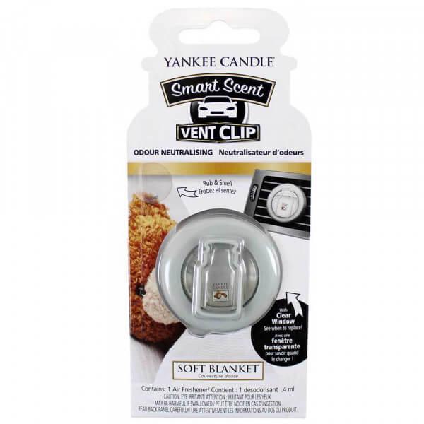 Yankee Candle - Smart Scent Vent Clip Autoduft Soft Blanket