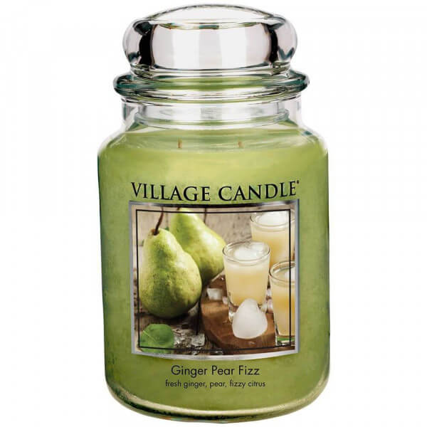 Village Candle Ginger Pear Fizz 645g