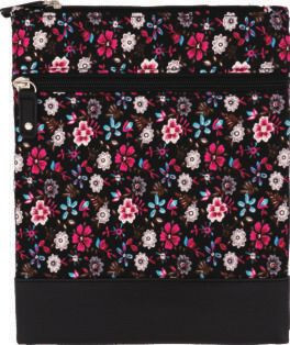 Cotton Crossbag 027 (Black Pink)