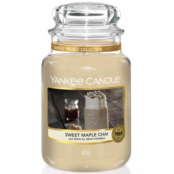 Sweet Maple Chai 623g von Yankee Candle