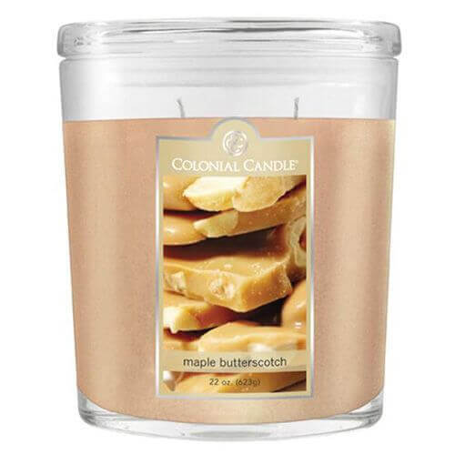Colonial Candle Maple Butterscotch 623g