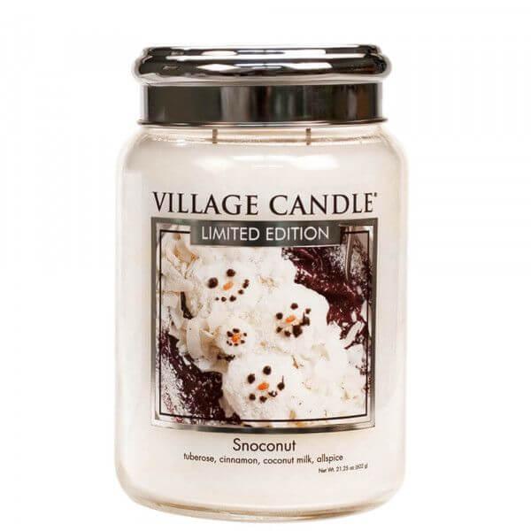 Snoconut 626g von Village Candle
