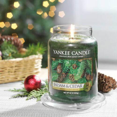 Yankee Candle - Balsam & Cedar 623g