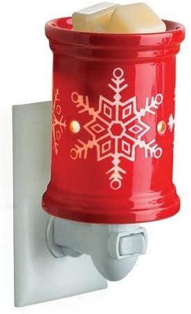 Red Snowflake Duftlampe für die Steckdose
