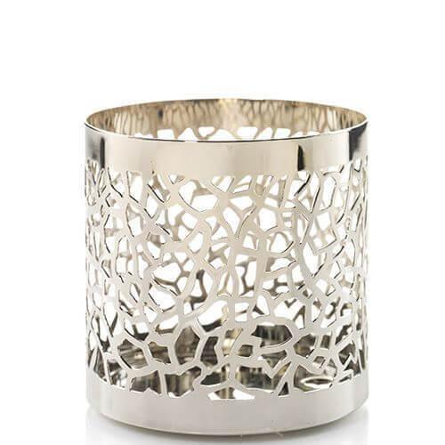 Yankee Candle Matrix Matrix Brushed Pillar Holder/ Fragrance Sphere Holder