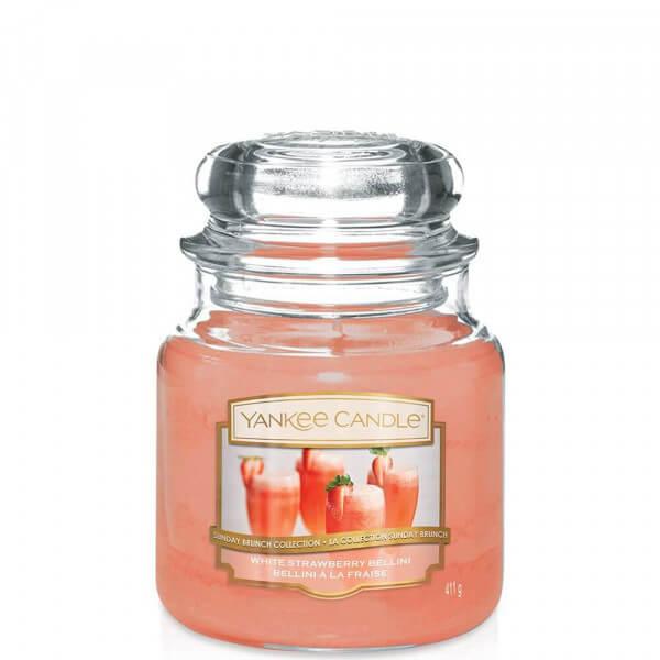White Strawberry Bellini 411g von Yankee Candle