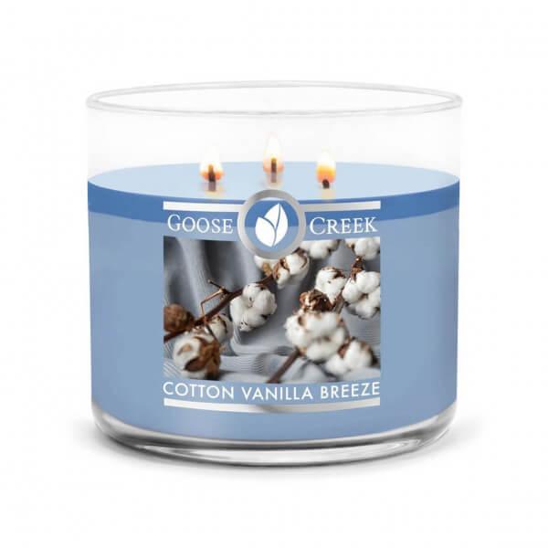 Cotton Vanilla Breeze 411g (3-Docht)