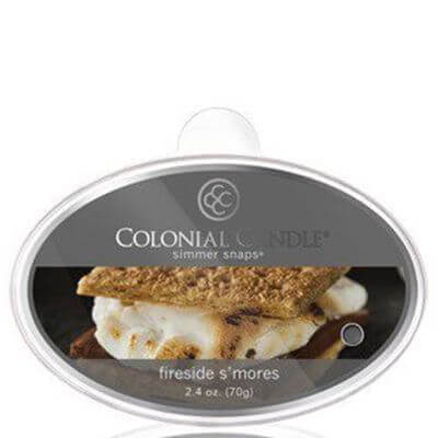Colonial Candle - Fireside S'Mores Simmer Snaps 70g
