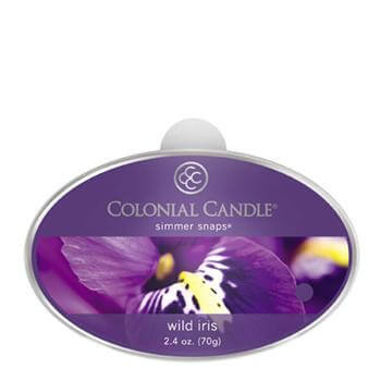 Colonial Candle Wild Iris Simmer Snaps 70g