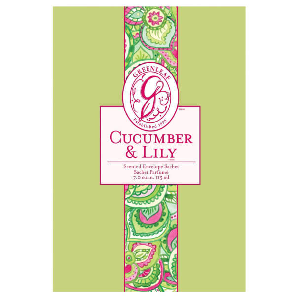 Cucumber & Lily Duftsachet Large 115ml