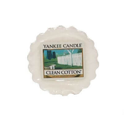 Yankee Candle Duft-Tart Clean Cotton