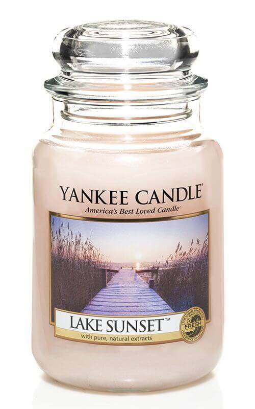 lake sunset 623g von yankee candle online bestellen candle dream. Black Bedroom Furniture Sets. Home Design Ideas