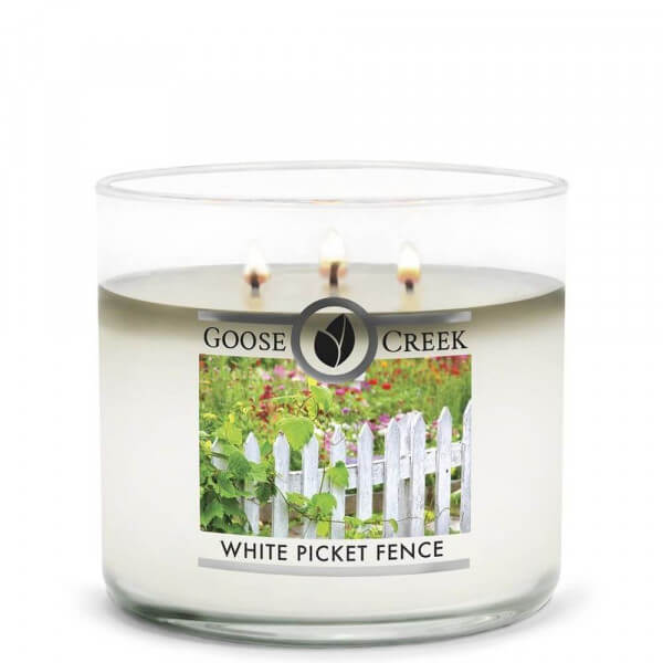 White Picket Fence 411g von Goose Creek Candle